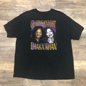 Other - Vtg 2XL Chaka Khan & Gladys Knight S/S T-Shirt
